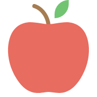 nature school apple icon