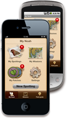 Project Noah iPhone and Android apps